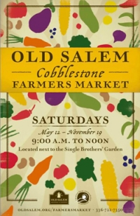 Old Salem Cobblestone Farmers market