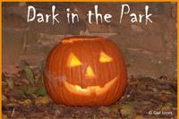 Bethabara park dark in the park halloween