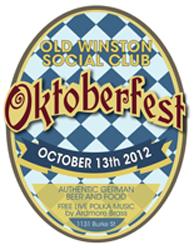 Old Winston-Social Club Oktoberfest