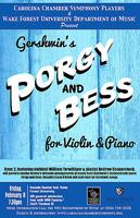 Carolina Chamber Symphony Players Gershwin's Porgy Bess
