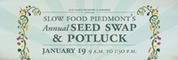 old salem seed swap slow food piedmont potluck