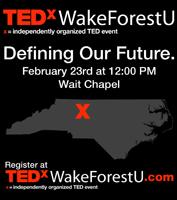 TEDx Wake forest university WFU