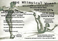 Whimsical Women Fall art show
