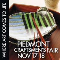 Piedmont Craftsmen art fair