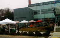 cobblestone pop up farmers market milton rhodes center