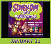 scooby doo live show