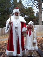 Old Salem christmas st. nick santa soulful philips