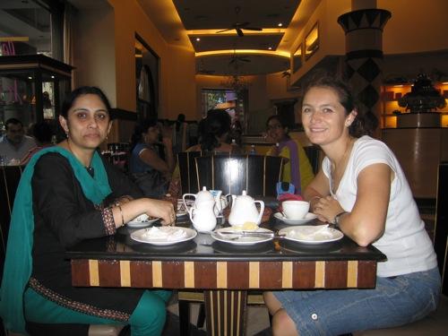 Anne-Rose in India