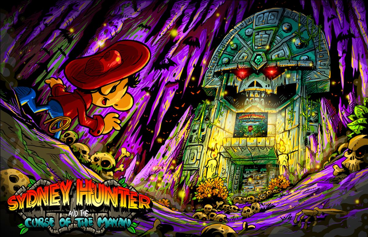 Sydney Hunter and the Curse of the Mayan – Key Art