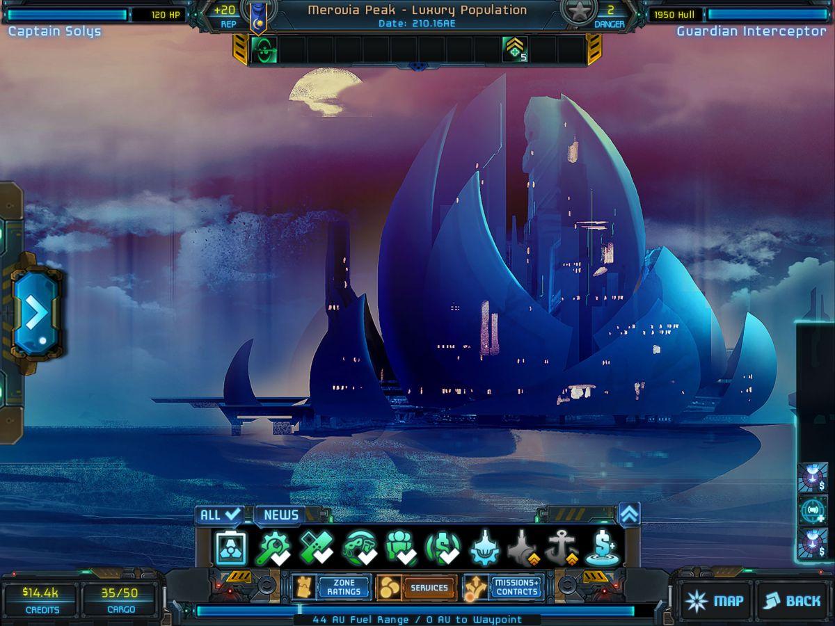 Star Traders: Frontiers –Screenshot