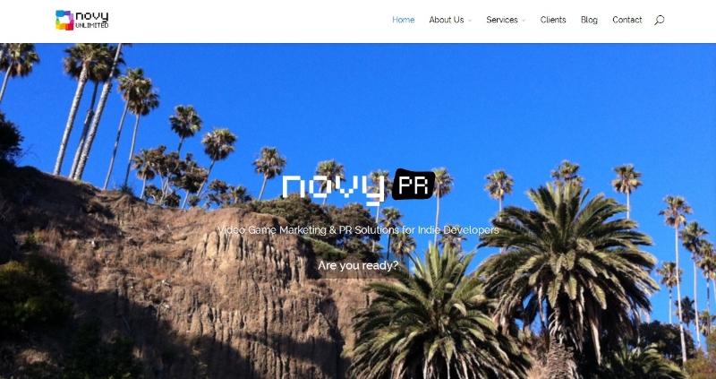 Novy PR (web site)