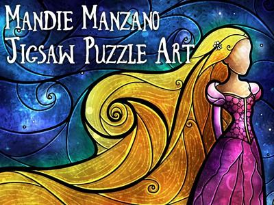 Mandie Manzano Jigsaw Puzzle Art