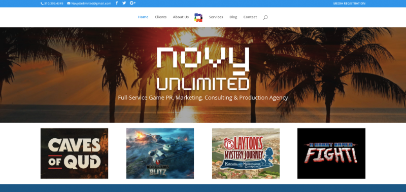 Novy Unlimited - Home Page