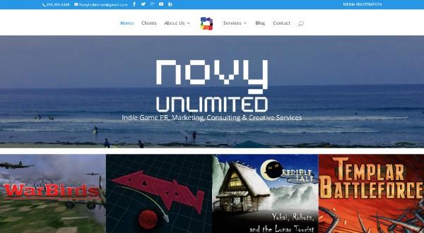 Novy Unlimited (web site)