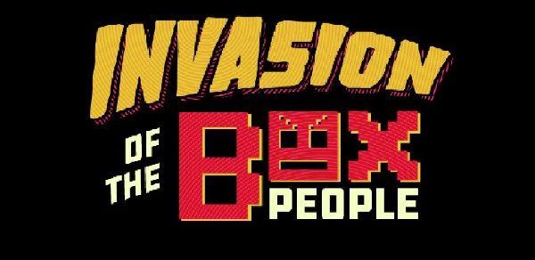 Invasion of the Box People - Logo