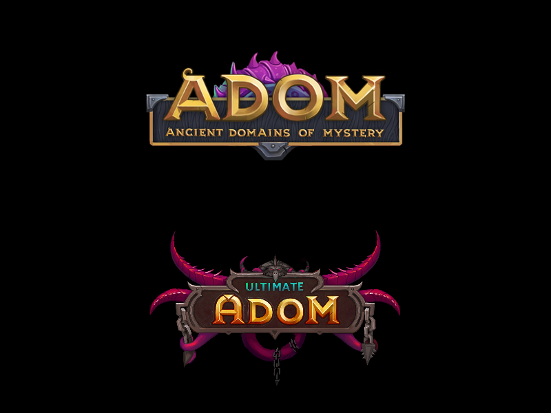 ADOM: Ancient Domains of Mystery & Ultimate ADOM
