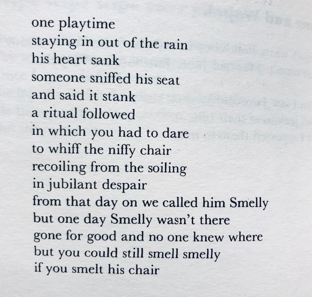 [Smelly by John Hegley]