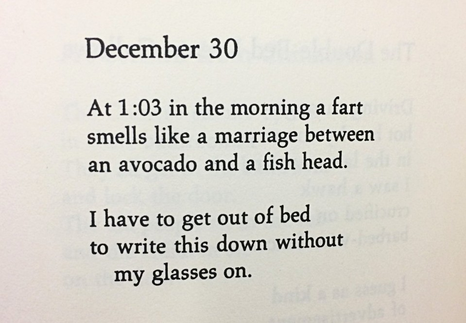 [December 30 by Richard Brautigan]