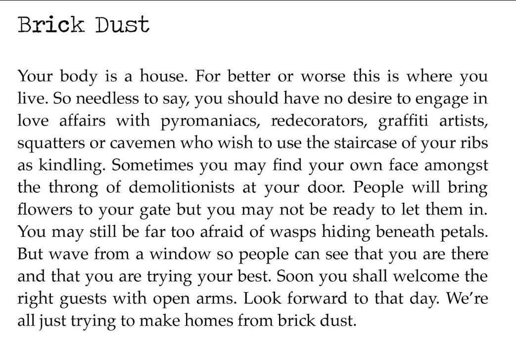[Brick Dust by Vanessa Kisuule]