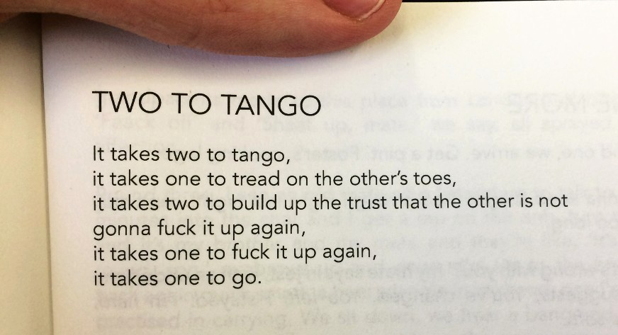 [Two to Tango by Paul Cree]
