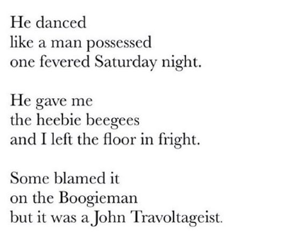 [The Heebie Beegees by Brian Bilston]