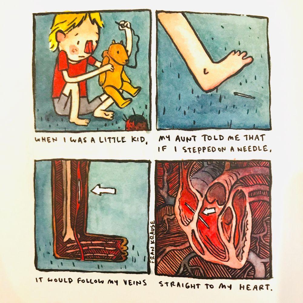 [Fear #75 by Fran Krause]
