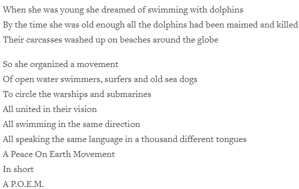 [The Girl Who Swam With Submarines by Daniel Cockrill]