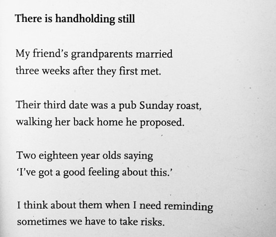 [There is Handholding Still by John Osborne]