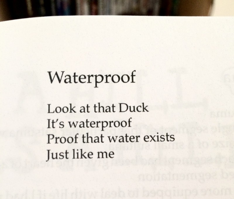 [Waterproof by Rob Auton]