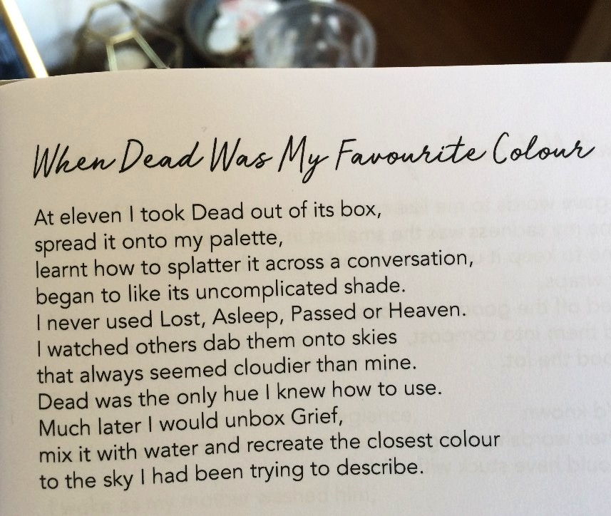 [When Dead Was My Favourite Colour by Erin Bolens]