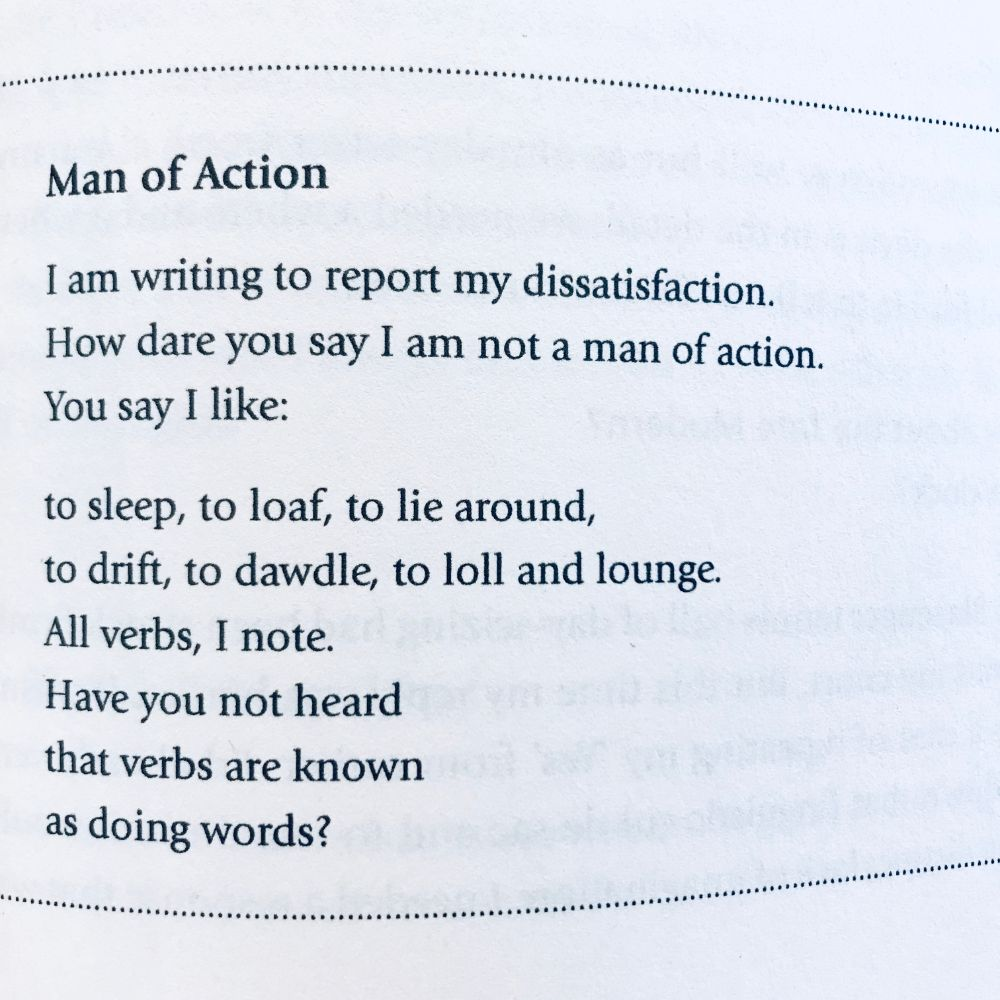 [Man of Action by Brian Bilston]