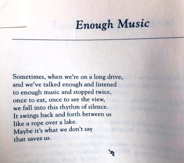 [Enough Music by Dorianne Laux]