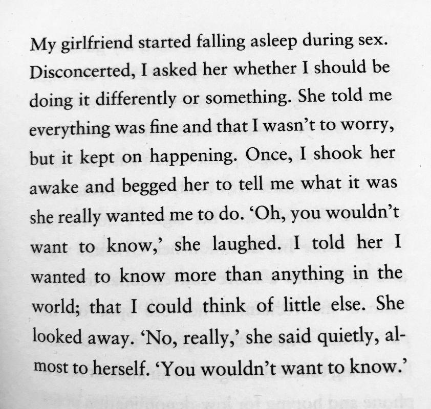 [Sleeping by Dan Rhodes]