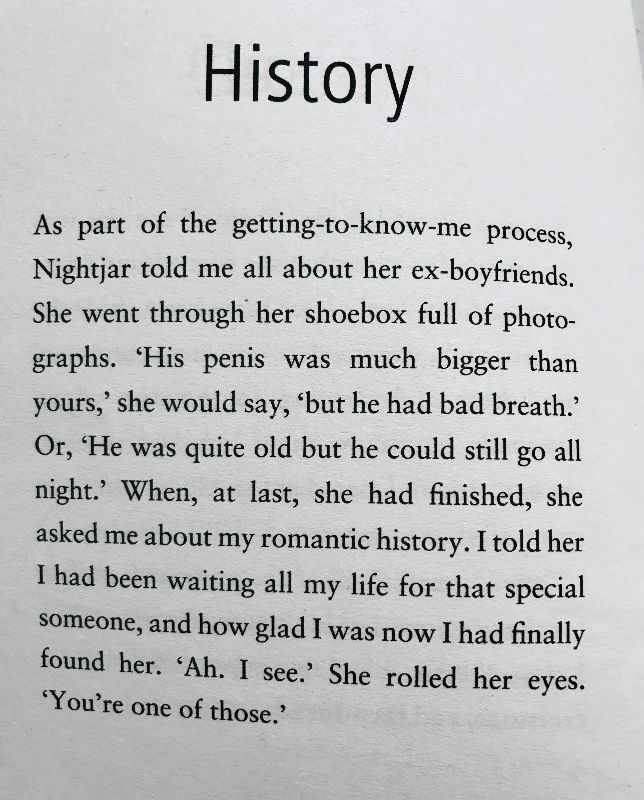 [History by Dan Rhodes]