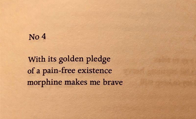 [Haiku No 4 by John Cooper Clarke]