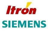 Logos: Itron, Siemens