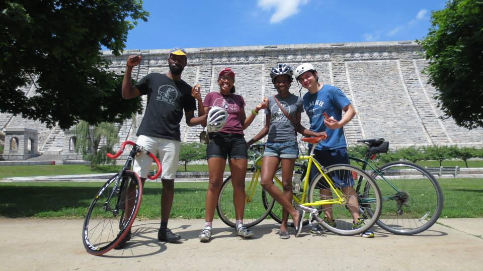 WE Bikers and WE Backers at the WE Boogie Up the Bronx ride