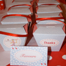 Printable Favours