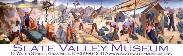 Slate Valley Museum logo