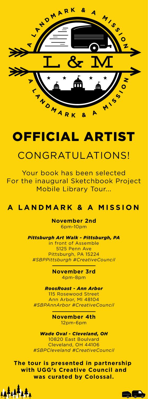 A Landmark & A Mission Tour Official Artist