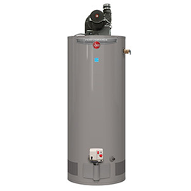 Propane tank water heater