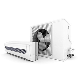 Ductless Mini-Split (single room)