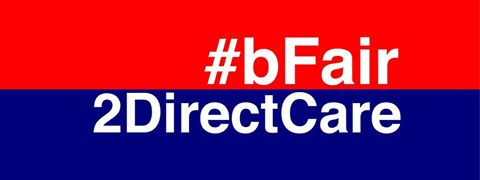 Be Fair to Direct Care Professionals button
