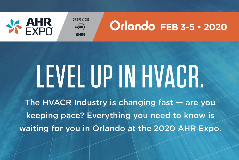 AHR Expo Header