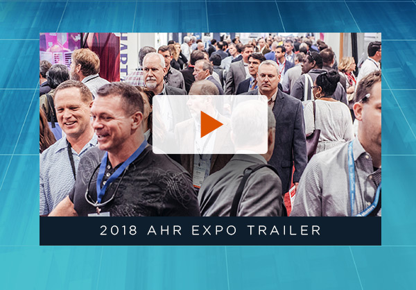 2018 AHR Expo Trailer