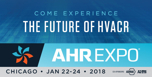 The future of HVACR is at the AHR Expo in Chicago