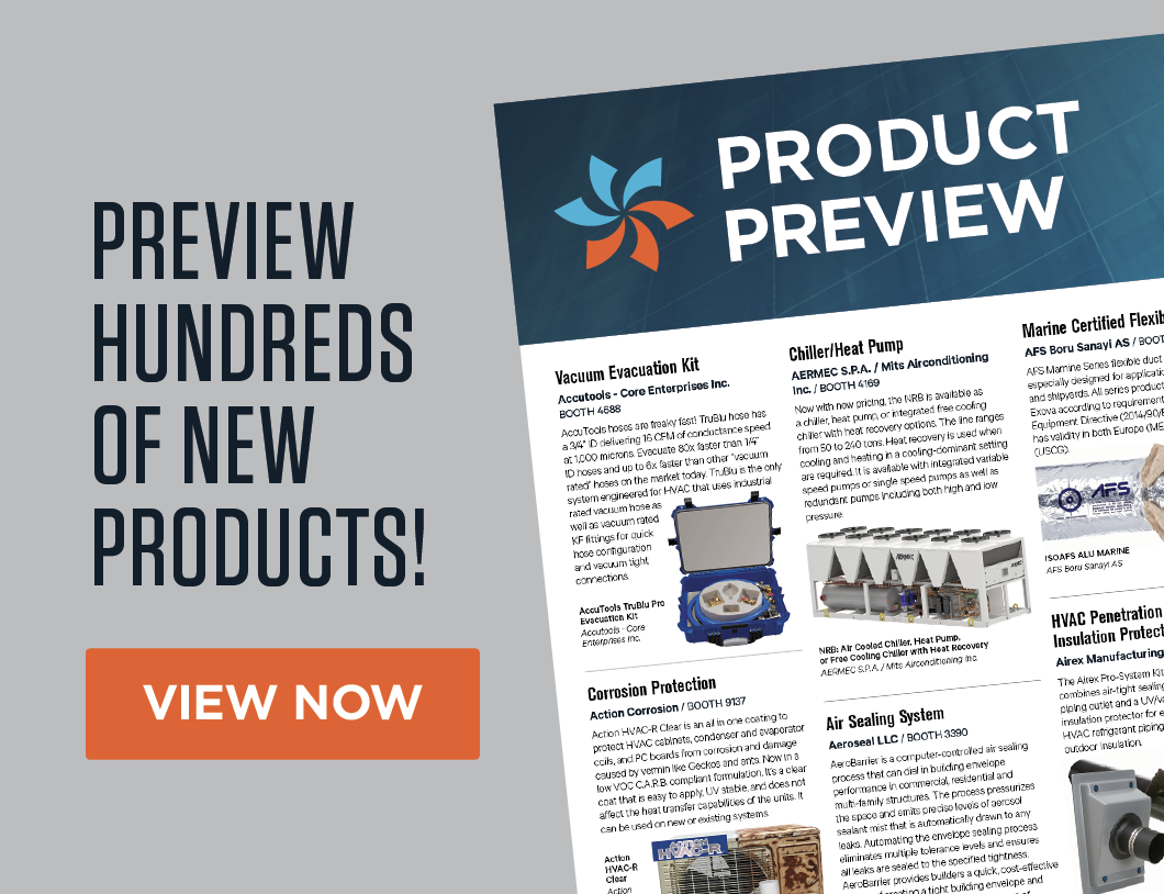AHR Product Preview