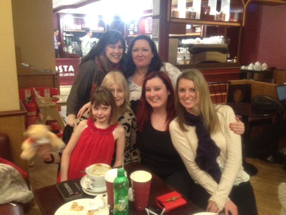 Cheska Thea Sophie Louise Stacy and Becky