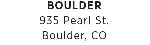 Boulder Store