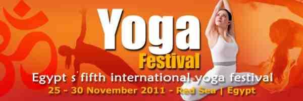 Yoga Festival - Egypt 25th-30th November 2011